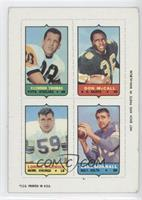 Clendon Thomas, Don McCall, Lonnie Warwick, Earl Morrall [Good to VG&…