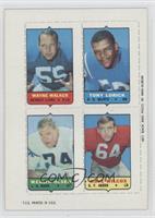 Wayne Walker, Tony Lorick, Merlin Olsen, Dave Wilcox