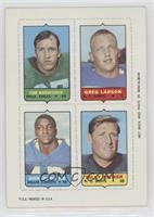 Tom Woodeshick, Greg Larson, Don Perkins, Billy Kilmer [GoodtoVG…