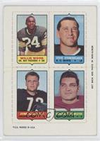 Willie Wood, Steve Stonebreaker, Jim Cadile, Vince Promuto [GoodtoV…