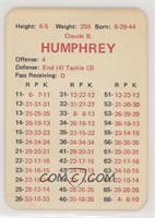 Claude Humphrey [GoodtoVG‑EX]
