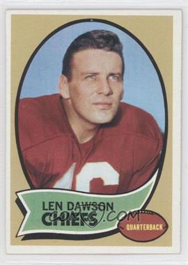 1970 Topps - [Base] #1 - Len Dawson