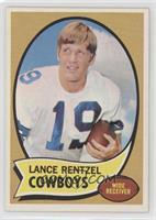 Lance Rentzel (player name in black)