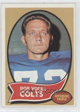 1970 Topps - [Base] #15 - Bob Vogel