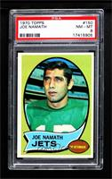 Joe Namath [PSA 8 NM‑MT]