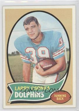 1970 Topps - [Base] #162 - Larry Csonka