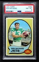 Don Maynard [PSA8NM‑MT]