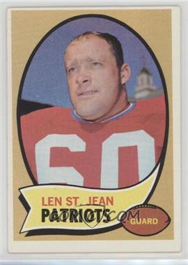 1970 Topps - [Base] #33 - Len St. Jean