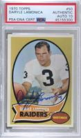 Daryle Lamonica [PSA Authentic PSA/DNA Cert]