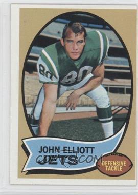 1970 Topps - [Base] #54 - John Elliott
