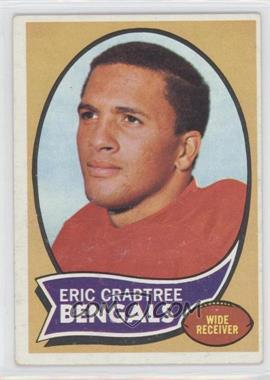 1970 Topps - [Base] #58 - Eric Crabtree [Good to VG‑EX]