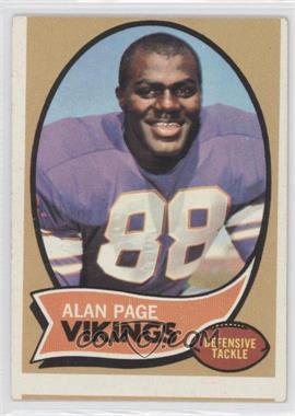 1970 Topps - [Base] #59 - Alan Page