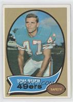 Tom Beier (Wearing a Miami Dolphins Uniform) [GoodtoVG‑EX]