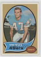 Tom Beier (Wearing a Miami Dolphins Uniform)