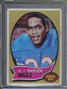 1970 Topps - [Base] #90 - O.J. Simpson [PoortoFair]