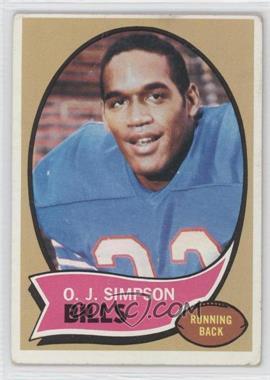1970 Topps - [Base] #90 - O.J. Simpson [GoodtoVG‑EX]