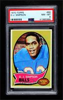 O.J. Simpson [PSA 8 NM‑MT]