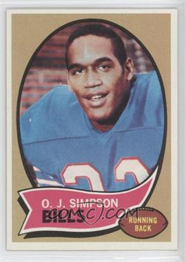 1970 Topps - [Base] #90 - O.J. Simpson