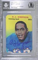 O.J. Simpson [BASCertifiedBGSEncased]