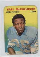 Earl McCullouch [Good to VG‑EX]