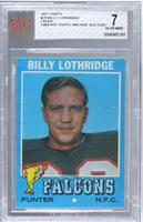 Billy Lothridge [BVG 7]