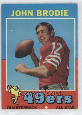 1971 Topps - [Base] #100 - John Brodie
