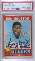 Ken Houston [PSA/DNACertifiedEncased]