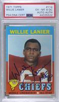 Willie Lanier [PSA/DNACertifiedEncased]