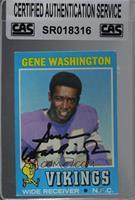 Gene Washington [CASCertifiedSealed]