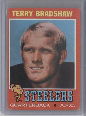 1971 Topps - [Base] #156 - Terry Bradshaw [Good to VG‑EX]