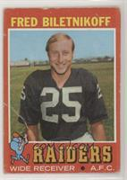 Fred Biletnikoff [Poor to Fair]