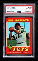 Joe Namath [PSA6EX‑MT]