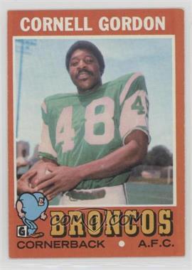 1971 Topps - [Base] #256 - Cornell Gordon