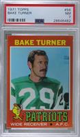 Bake Turner (Wearing New York Jets Uniform) [PSA7NM]