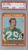 Bake Turner (Wearing New York Jets Uniform) [PSA6EX‑MT]