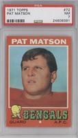 Pat Matson [PSA7]