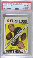 Bart Starr [PSA 6 EX‑MT (MC)]