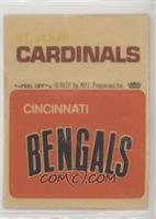 Cincinnati Bengals Logo, St. Louis Cardinals [PoortoFair]