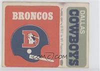 Denver Broncos, Dallas Cowboys