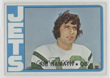 1972 Topps - [Base] #100 - Joe Namath