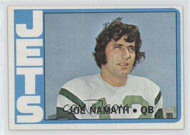 1972 Topps - [Base] #100 - Joe Namath
