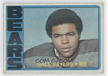 1972 Topps - [Base] #110 - Gale Sayers [Good to VG‑EX]