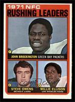 Steve Owens, Willie Ellison, John Brockington [EXMT]