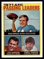Len Dawson, Virgil Carter, Bob Griese [EXMT]