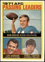 Len Dawson, Virgil Carter, Bob Griese [VGEX]