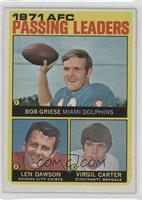Len Dawson, Virgil Carter, Bob Griese