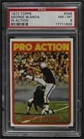 High # - George Blanda (Pro Action) [PSA 8 NM‑MT]