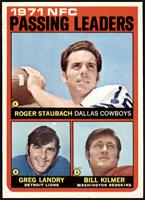 Roger Staubach, Greg Landry, Billy Kilmer [NM MT]