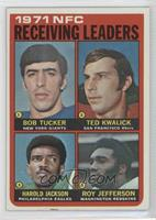 Bob Tucker, Ted Kwalick, Harold Jackson, Roy Jefferson