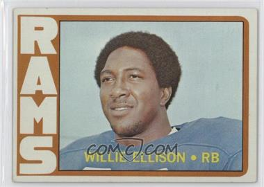 1972 Topps - [Base] #62 - Willie Ellison